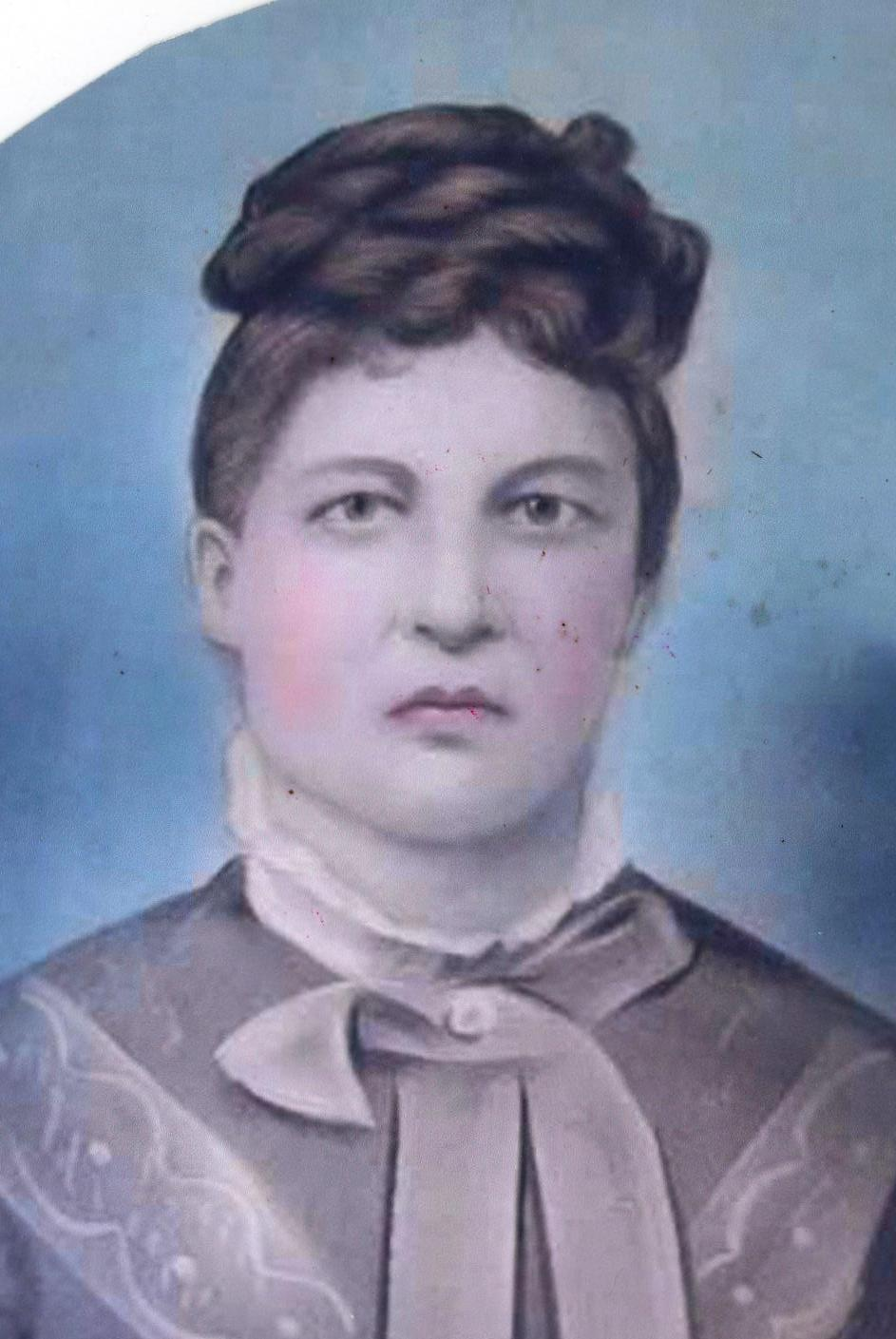 Mary's daughter Laura, who was born seven years after Jesse in 1857.