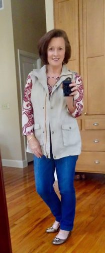 Stitch Fix Blouse & Vest